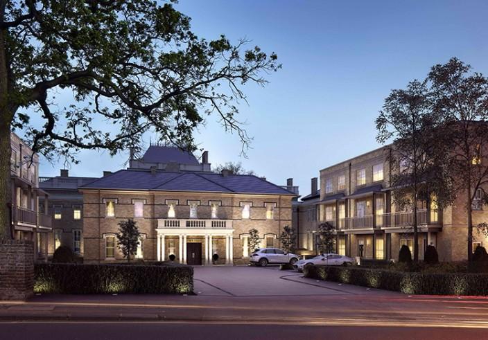 cgi luxury hotel front